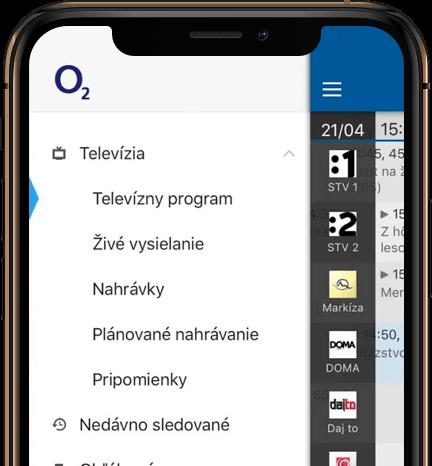 O2 TV v mobile