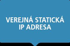 Verejná statická IP adresa