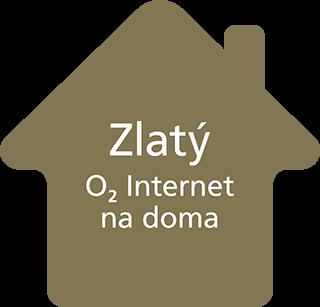 Zlatý O2 Internet na doma