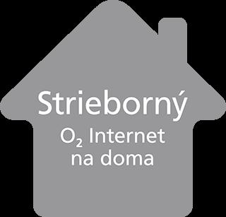 Strieborný O2 Internet na doma